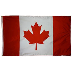 Annin - Canada Country Flag 3x5 ft. Nylon SolarGuard