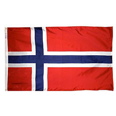 Annin - Norway Country Flag 3x5 ft. Nylon SolarGuard
