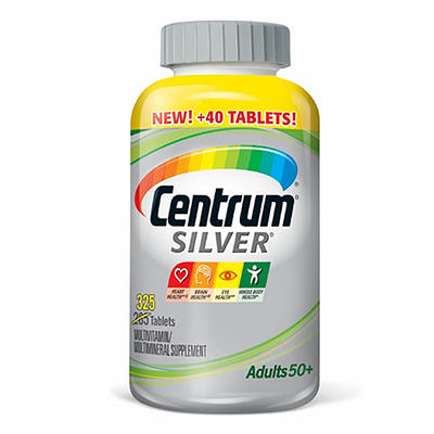 Centrum Silver Multivitamin - 285 ct.