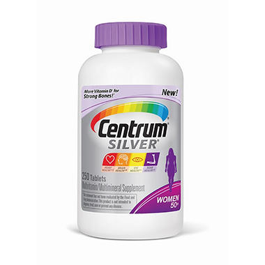 Centrum Silver Women's - 250 ct.