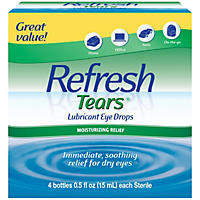 Refresh Tears Lubricant Eye Drops Multi-pack (4 ct.)