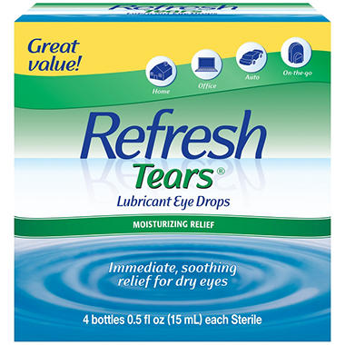 Refresh Tears� Lubricant Eye Drops Multi-pack