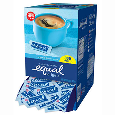 Equal� 0 Calorie Sweetener - 800 packets