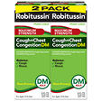 Robitussin Peak Cold Cough + Chest Congestion DM - 8 oz. - 2 pk.