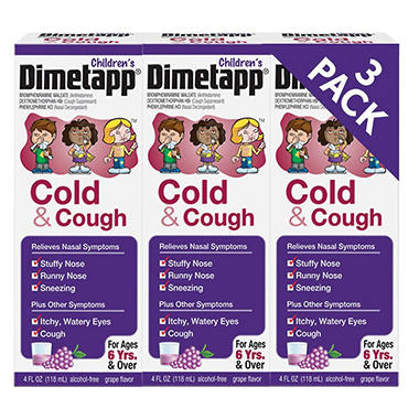 Children's Dimetapp Cold & Cough - 4 oz. - 3 pk.