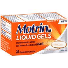 Motrin IB Liquid Gels Ibuprofen Pain Reliever/ Fever Reducer Capsules (20 ct.)