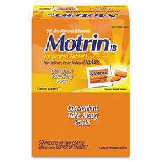 Motrin IB Ibuprofen 200 mg Capsule - 50 pk.