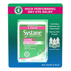 Systane Ultra Lubricant Eye Drops (10ml., 3 pk.)