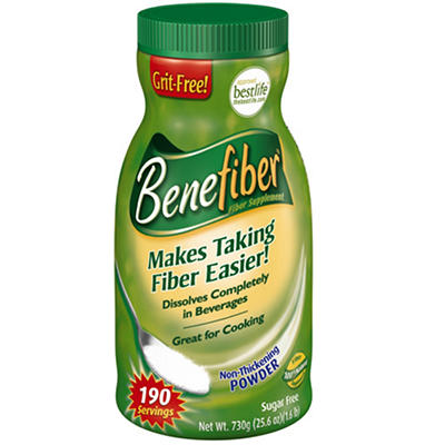 Benefiber® Fiber Supplement - 25.6 oz. container
