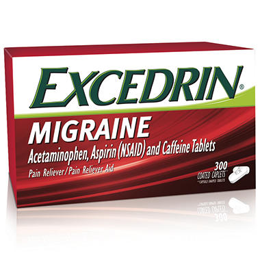 Excedrin Migraine Coated Tablets - 300 ct.