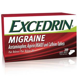Excedrin Migraine Coated Caplets (300 ct.)