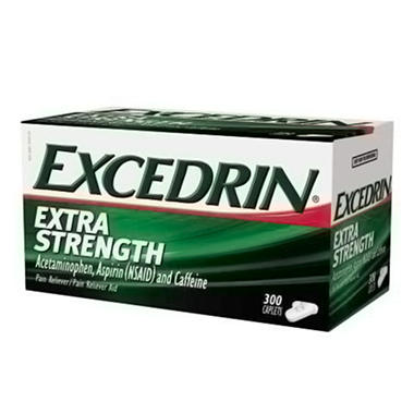 Excedrin Extra Strength Caplets (300 ct.)
