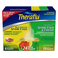 Theraflu Day & Night Severe Cold (24 Total Packets)