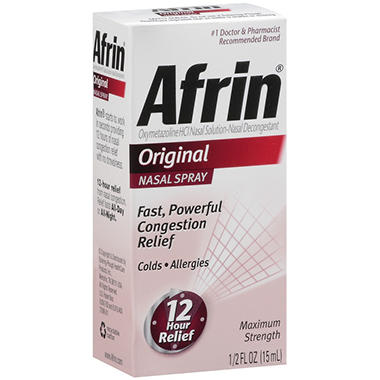 Afrin® Original Nasal Spray - 15mL