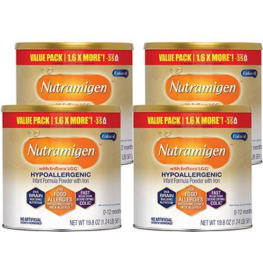 Enfamil - Nutramigen Infant Formula (19.8 oz., 4 pk.)