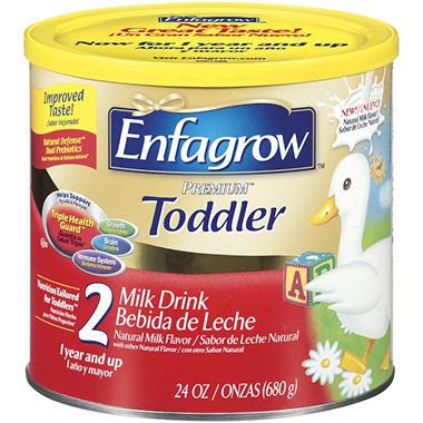 Enfagrow - Premium 2 Toddler Milk Drink, 24 oz. - 1 pk.