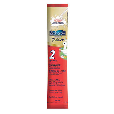Enfagrow Premium Toddler Formula - EZ Ones Single Serve Powder Sticks, 96 ct.