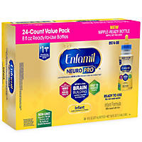 Enfamil Infant Ready to Feed Infant Formula (8 fl. oz., 24 ct.)