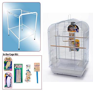 Penn Plax Bird Cage Starter Kit