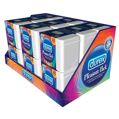 Durex Pleasure Pack Condoms - 48 ct.