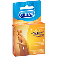 Durex Avanti Bare RealFeel Non-Latex Condoms (3 ct.)
