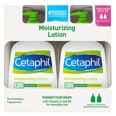Cetaphil Moisturizing Lotion (20 oz./2 pk.)
