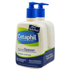 Cetaphil Daily Facial Cleanser - 20 oz. - 2 pk.