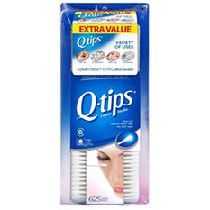 Q-tips Cotton Swabs - 1375 ct.