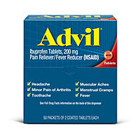 Advil Tablets Dispenser (50 - 2ct. Packets)