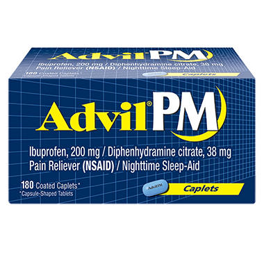 Advil PM Caplets (180 ct.)