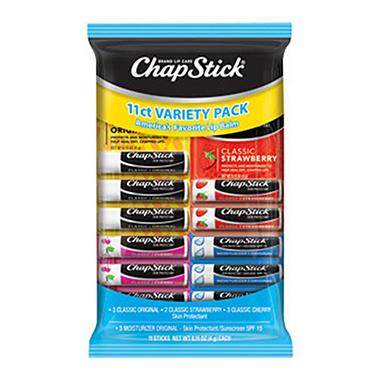 Chapstick Variety Pack - 11 ct.