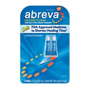Abreva Cold Sore Treatment (.07 oz., 2 pk.)