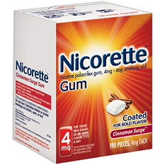 Nicorette® Cinnamon Surge™ Gum - 4mg/190 ct.