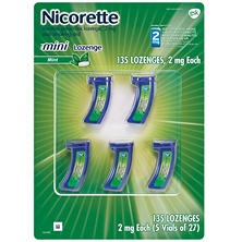 Nicorette® Stop Smoking Mini Lozenge Mint - 135 ct.