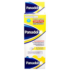 Panadol Cold &Flu NonDrowsy Dispenser - 50 ct. - 2 pk.
