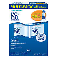 Bausch & Lomb Renu Fresh Multi-Purpose Cleaning Solution - 16 oz. bottles - 2 pk.