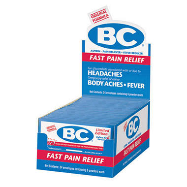 BC� Fast Pain Relief - 24 envelopes
