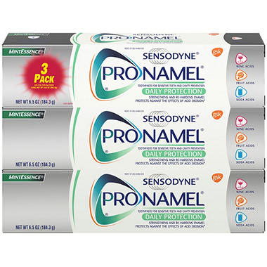 Sensodyne Pronamel Mint Essence Toothpaste - 6.5 oz. - 3 pk.
