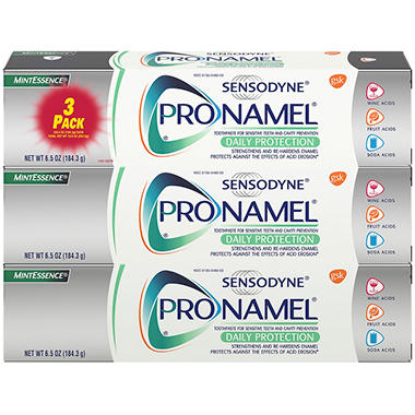 Sensodyne Pronamel Mint Essence - 6.5 oz. - 3 pk.