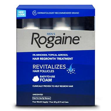 Men's Rogaine® Foam - 4/2.11 oz. cans