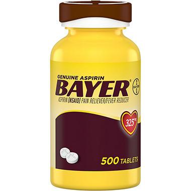 Bayer® Genuine Aspirin - 500 ct