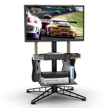 "Spyder TV Gaming Stand for up to 42"" TV - Black"