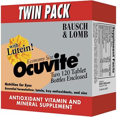Ocuvite® Tablets - 2/120 ct. bottles