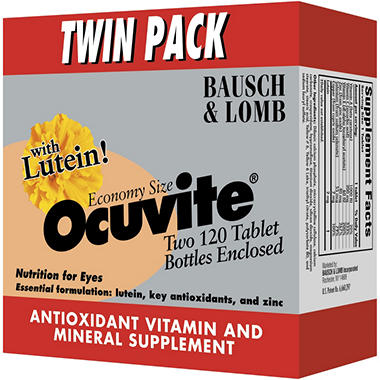 Ocuvite� Tablets - 2/120 ct. bottles