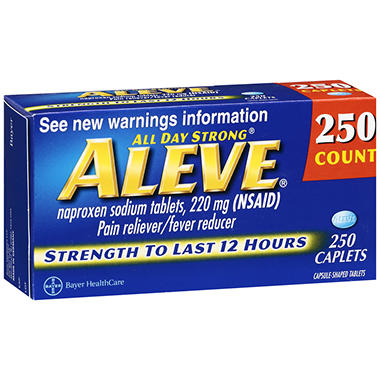 Aleve� Caplets - 220mg - 250 ct.