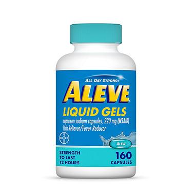 Aleve Liquid Gels - 160 ct.