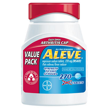 Aleve Arthritis Value Pack - 270 Tablets