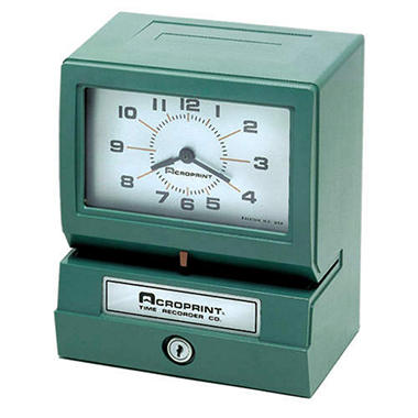AcroPrint� Heavy-Duty 150 Time Recorder