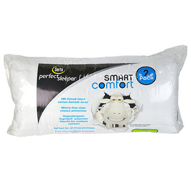 Serta 300 TC King Bed Pillows - 2 pk.