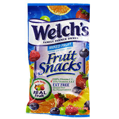 Welch's Mixed Fruit Snacks - 2.25 oz. Bag - 48 ct.